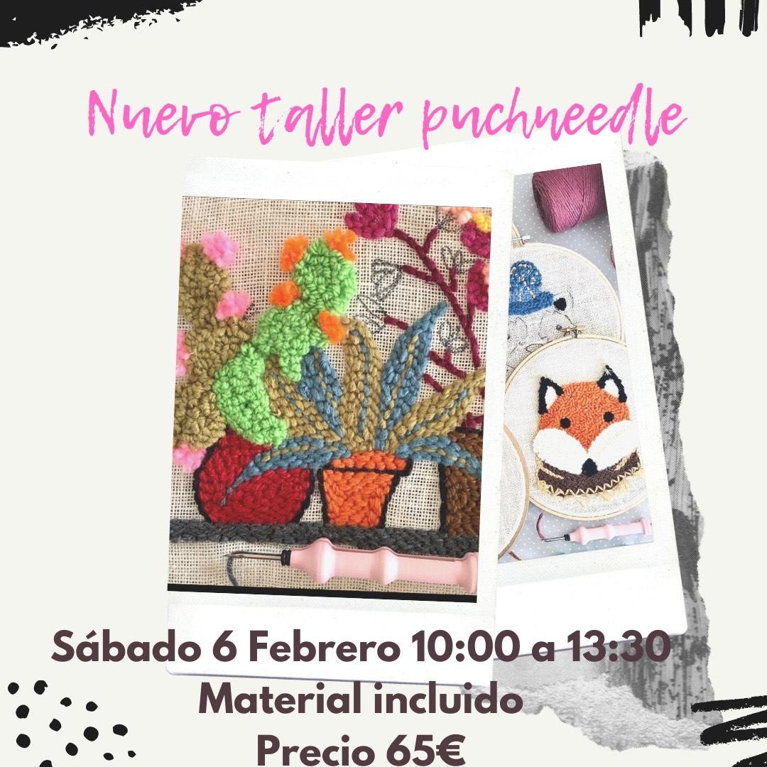 Taller Puchneedle - 6 de febrero 2021